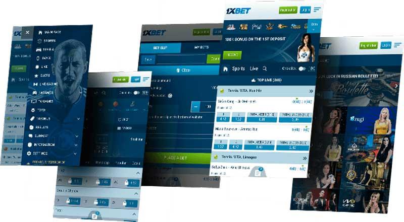 bookmaker et de l'offre 1xBet mobile